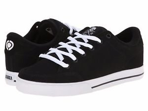 Circa AL50  Slim C1RCA Skate Shoes Steel Black White Canvas Vulcanized Sole