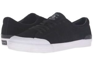 Circa Fremont C1RCA Skate Shoes Black White Suede Vulcanized Sole