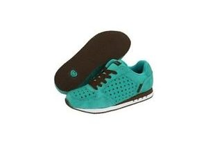 C1RCA SKATE SHOES Crook Turquois Brown Evil