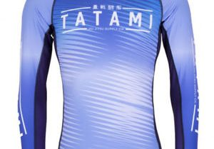 Tatami Fightwear Men's Cirrus Rash Guard MMA BJJ Blue