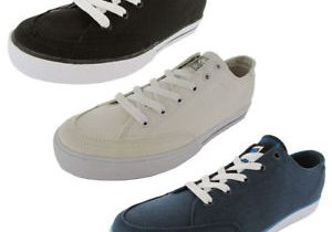 C1RCA Mens 50 Classic Fabric Skate Shoe