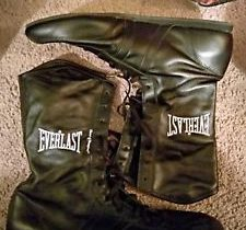 Everlast Boxing Shoes Hi Top Suede Leather Mens Size 10.5 HX