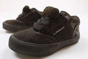 Quiksilver Boys Little Drift Skate Sneakers Brown Size 11 New