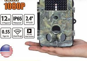 12MP Proof Cam HD Hunting Trail Game Camera Scouting 42 IR LEDs Ground Swat SALE