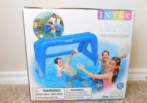 Brand new in the box Intex Fun Goals Inflatable Game Set for the pool or ground