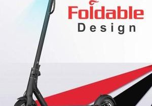 TOMOLOO L1 Electric Scooter with Foldable Design 18.6 Miles Long-Range Up to …