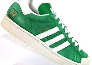 Adidas Half Shells Skateboarding Vulc Skate Shoes Trainers Green Whit…